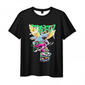 Collectibles Men'S T-Shirt Shark Print Hotline Miami Merch