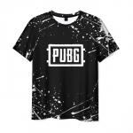 Merchandise Men'S T-Shirt Graphic Game Pubg Merchandise Black