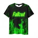 Merchandise Men'S T-Shirt Clothes Print Fallout Design