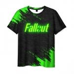 Merchandise Men'S T-Shirt Title Game Fallout Merchandise