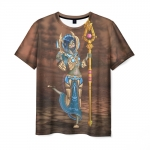 Merch Men'S T-Shirt Game Priest World Of Warcraft Hero