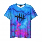 Merchandise Men'S T-Shirt Sign Print Dead By Daylight Merch
