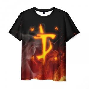 Collectibles Men'S T-Shirt Doom Black Sign Slayer Print