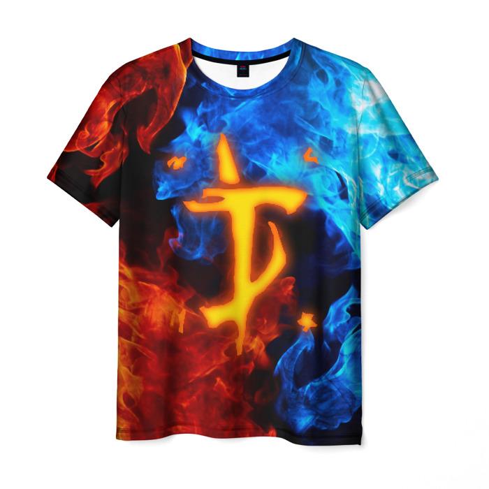 Collectibles Men'S T-Shirt Game Black Doom Print Slayer