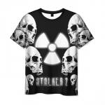 Collectibles Men'S T-Shirt Stalker Pattern Skull Merch