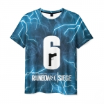 Merchandise Men'S T-Shirt Emblem Image Game Rainbow Six Siege