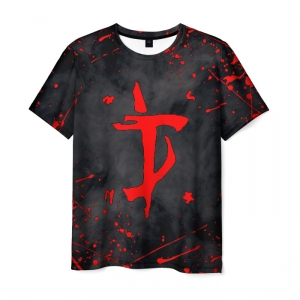 Collectibles Men'S T-Shirt Doom Slayer Merchandise Black Design