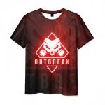 Merch Men'S T-Shirt Graphic Outbreak Rainbow Six Siege