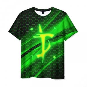 Collectibles Men'S T-Shirt Doom Slayer Green Print Merch