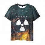 Merchandise Men'S T-Shirt Graphic Game Stalker Print