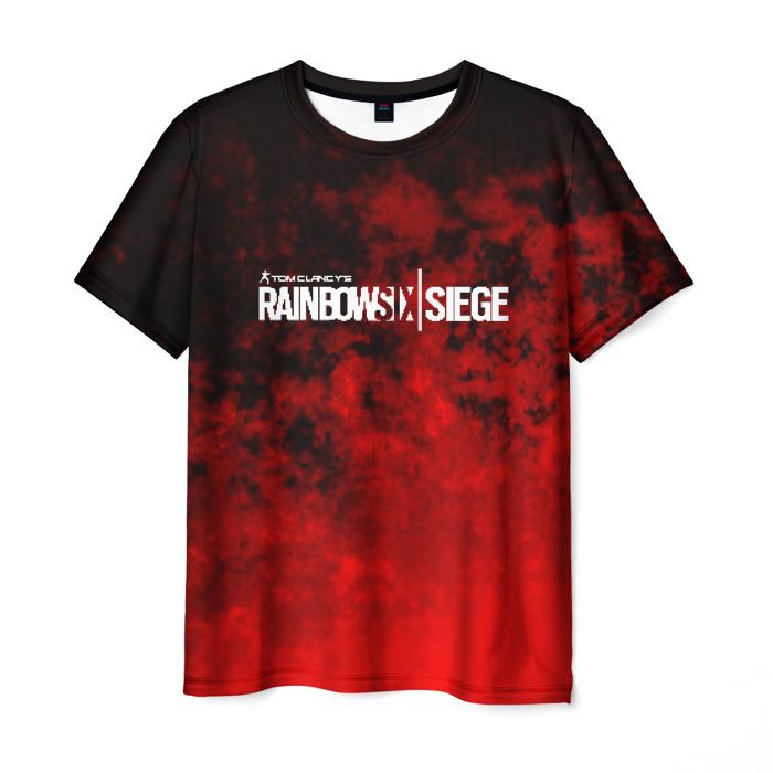 Merch Men'S T-Shirt Design Slogan Rainbow Six Siege Print