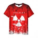 Merchandise Men'S T-Shirt Red Print Stalker Merch