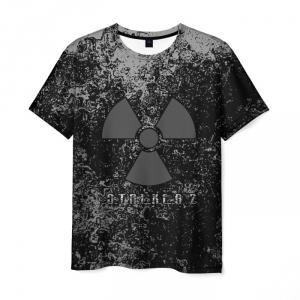 Collectibles Men'S T-Shirt Black Print Game Stalker Merch