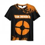 Collectibles Men'S T-Shirt Team Fortress Design Print Merch