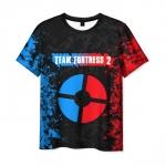 Merchandise Men'S T-Shirt Red Vs Blue Team Fortress Print