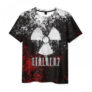 Collectibles Men'S T-Shirt Graphic Design Game Stalker Print