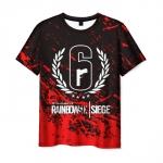 Collectibles Men'S T-Shirt Drawing Print Rainbow Six Siege