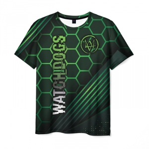 Collectibles Men'S T-Shirt Watch Dogs Merchandise Image