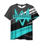 Merchandise Men'S T-Shirt Clothes Watch Dogs Text Print