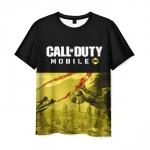 Merch Men'S T-Shirt Call Of Duty Mobile Text Design