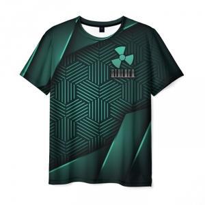 Collectibles Men'S T-Shirt Graphic Game Design Stalker Print