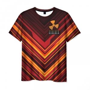 Collectibles Men'S T-Shirt Apparel Game Design Stalker Text