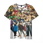 Merchandise Men'S T-Shirt Street Fighter Сharacters Print