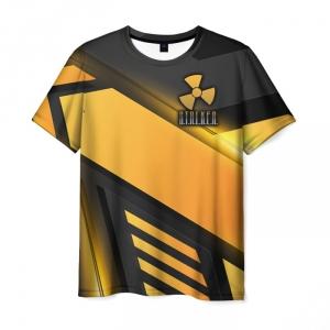 Collectibles Men'S T-Shirt Outline Orange Game Stalker