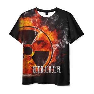 Collectibles Men'S T-Shirt Merch Game Stalker Design Print