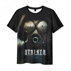 Collectibles Men'S T-Shirt Face In The Mask Game Stalker