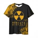 Merchandise Men'S T-Shirt Black Design Merch Stalker