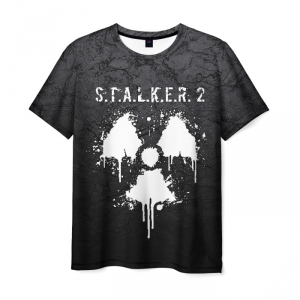 Collectibles Men'S T-Shirt Title Design Stalker Gray Print