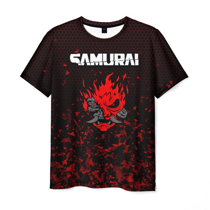 Collectibles Men'S T-Shirt Game Cyberpunk Print Samurai Merch