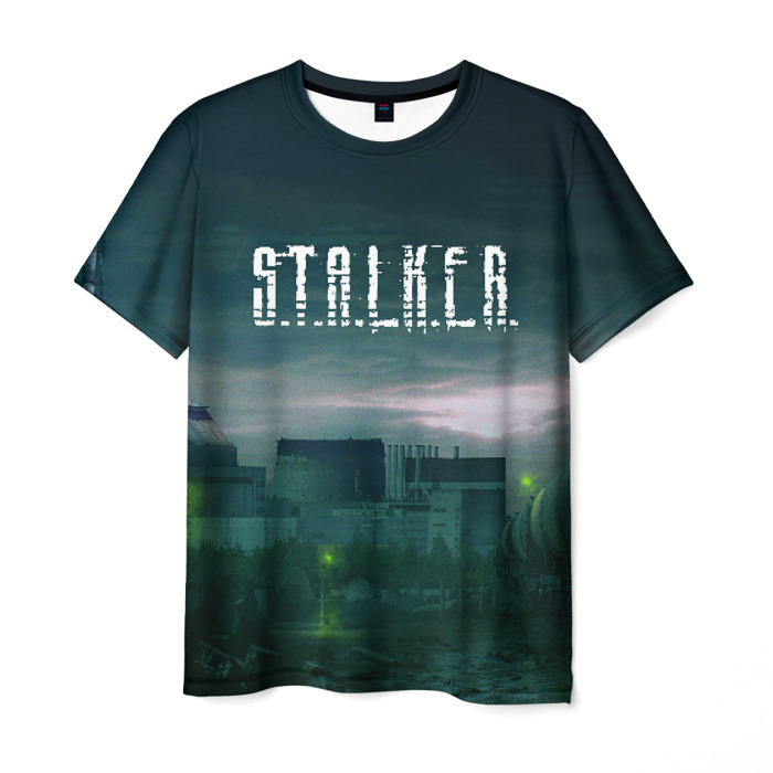 Collectibles Men'S T-Shirt Footage Game Stalker Print