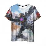 Collectibles Men'S T-Shirt Apex Legends Pathfinder Print