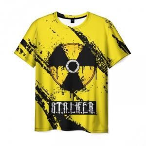 Collectibles Men'S T-Shirt Sign Print Stalker Merch Game