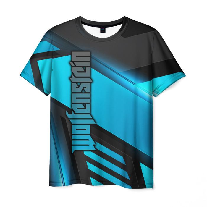 Merchandise Men'S T-Shirt Merchandise Print Game Wolfenstein