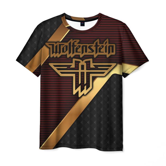 Merch Men'S T-Shirt Merch Game Wolfenstein Print