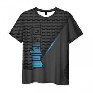 Merchandise Men'S T-Shirt Wolfenstein Title Merch Design