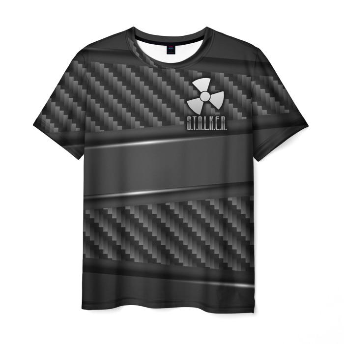 Merchandise Men'S T-Shirt Design Outline Image Stalker