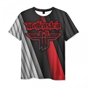 Merchandise Men'S T-Shirt Wolfenstein Picture Emblem Design