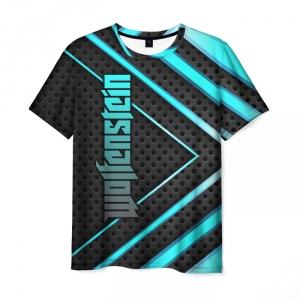Merchandise Men'S T-Shirt Wolfenstein Design Merch Print