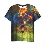Merchandise Men'S T-Shirt Battle Print Darksiders Merch