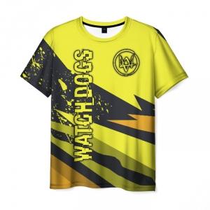 Collectibles Men'S T-Shirt Watch Dogs Design Merch Image