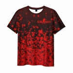 Collectibles Men'S T-Shirt Scrawl Print Counter-Strike Merch
