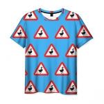 Collectibles Men'S T-Shirt Untitled Goose Game Pattern Merch