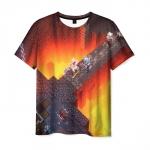 Merchandise Men'S T-Shirt Scene Print Minecraft Apparel