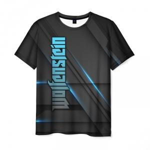 Merchandise Men'S T-Shirt Wolfenstein Graphic Design Merch