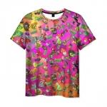 Merchandise Men'S T-Shirt Plants Vs Zombies Pattern Scene Game
