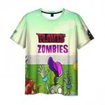 Merchandise Men'S T-Shirt Plants Vs Zombies Image Game Merch